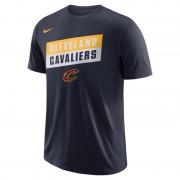 Tee-shirt de NBA Cleveland Cavaliers Nike Dri-FIT pour Homme - Bleu