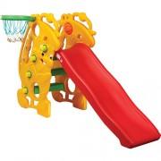 Пързалка с баскетболен ринг