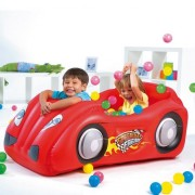 Bestway Race Car Ball Pit Inflatable Play Set with 50 Fun Balls