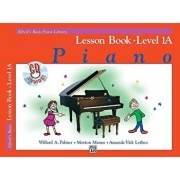 Alfred's Basic Piano Library Lesson Book, Bk 1a: Book & CD, Paperback/Willard A. Palmer