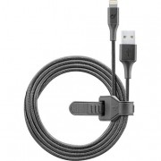 Cellular Line Cosmic Cable - Lightning Cavo USB con cinturino in silico