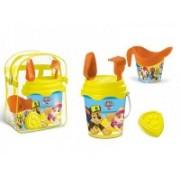 Set plaja Paw Patrol Mondo pentru copii cu ghiozdanel, jucarii plaja si galetusa