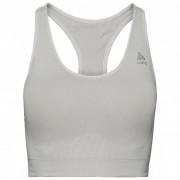 Odlo Women`s Sports Bra Seamless Medium Ceramicool Reggiseno sportivo (XS, grigio)