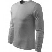 ADLER FIT-T Long Sleeve Pánské triko 11912 tmavě šedý melír XXL