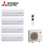 Mitsubishi Electric Quadri Split Inverter Serie Sf 9+9+12+12 Con Mxz-4d83va