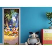 Fototapet Disney Alba ca Zapada in Padure