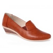 Art Sole Loafers For Women(Brown)