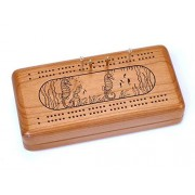 Cribbage Case With Cards Sea Horse