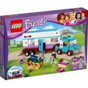 LEGO FRIENDS - RULOTA VETERINARA PENTRU CAI 41125