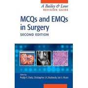 MCQs and EMQs in Surgery by Edited by Pradip Datta & Edited by Christopher John Bulstrode & Edited by Iain Nixon