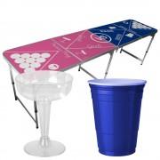StudyShop Prosecco Pong Bord inkl. glas och muggar