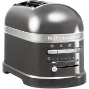 KitchenAid Toster na 2 kromki Artisan srebrzystopopielaty