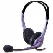 Слушалки с микрофон GENIUS HS-04S, Лилави, 031710025100