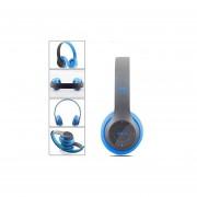 Audífonos Bluetooth Manos Libres, P47 Audífonos Diadema Bluetooth Inalámbricos Estéreo Plegables Auriculares Con Micrófono Con Soporte De Micrófono TF Tarjeta De Radio FM (azul)