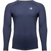 Gorilla Wear Rentz Longsleeve - Marineblauw - 2XL