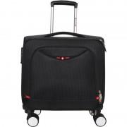 Swisstek 15 inch Trolley Laptop Strolley Bag (Black)