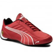 Сникърси PUMA - Sf Future Kart Cat 306170 01 Rosso Corsa/Puma White