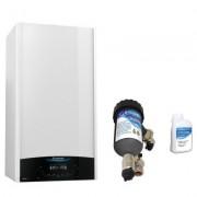 Produs cadou la Centrala termica Ariston Genus One 24 EU 24 kW cu filtru antimagnetita Salus MD22A. 5 ani garantie