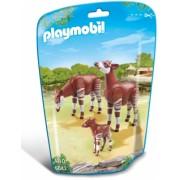 Familie de okapi City Life Zoo Playmobil
