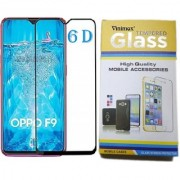 Vinimox 6d tempered glass for Oppo F9(black)