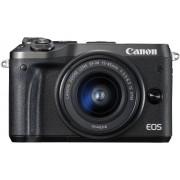 Canon EOS M6 + 15-45mm - Zwart