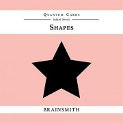 Brainsmith Quantum Cards – Shapes - Black and White Cards for Newborns – Newborn Baby - Vision Stimulation - Baby Brain Development - High Contrast Image Cards - Infant Flashcards – Early Learning – Infant Series - Visual Development – Baby Shower Gift (F