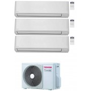 Toshiba Seiya Condizionatore Trial Split 9000+9000+9000 9+9+9 Btu Inverter R32 Ras-3m26u2avg-E A++