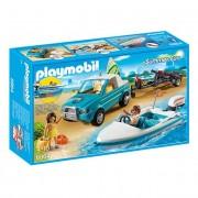 Playmobil Pick-Up com Barco