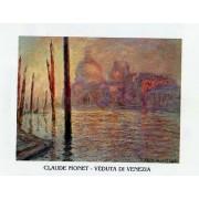 Tablou Monet Veduta di Venezia 80x60 cm