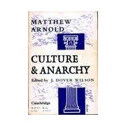 Culture and anarchy - Margot Arnold - Livre