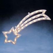 Luminous window picture Star of Bethlehem, 55 cm
