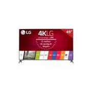 Smart TV LED 49 49UJ6565 LG, 4K HDMI USB Tecnologia webOS 3.5 e Wi-Fi Integrado