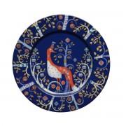 Iittala - Taika Teller flach, blau Ø 22 cm