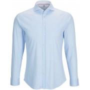 Desoto Hemd Bügelfrei PDP Blau - Blau Größe S