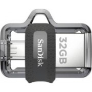 SanDisk Ultra Dual Drive M3.0 32 GB OTG Drive 32 GB OTG Drive (Black, Type A to Micro USB) 32 GB Pen Drive(Black)