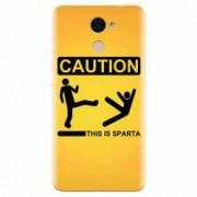 Husa silicon pentru Huawei Nova Lite Plus This Is Sparta Funny Illustration