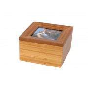 Tribute Memorybox Dierenurn met Fotolijst (1.1 liter)