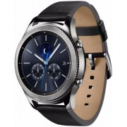 "Smartwatch Samsung Gear S3 Classic SM-R770, Procesor Dual-Core 1GHz, Super AMOLED 1.3"", 768MB RAM, 4GB Flash, Bluetooth, Wi-Fi, Rezistent la apa si praf, Tizen (Argintiu) + Cartela SIM Orange PrePay, 6 euro credit, 4 GB internet 4G, 2,000 minute nationale"