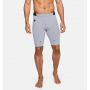 Under Armour Herenshorts UA RUSH Compression - Mens - Gray - Grootte: Extra Large