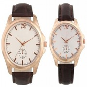 Combo of Round Dial Elegant Analog Wrist Watches