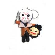 Jason Friday the 13th Voodoo String Doll Keyring Keychain