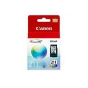 Cartucho Canon CL-211 Jato de Tinta Color 9ML - CL-211