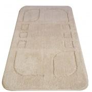Carezza tappeto bagno cm 55x90