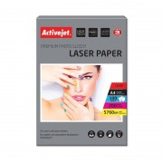 Hartie Foto Laser Activejet, Glossy, A4, 200g, 100 coli