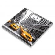 Cantar de sticla Beurer, 150 kg, LCD, model New York