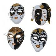 Masca petrecere venetiana arlechino culori diferite 61294