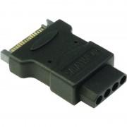 Adaptor SATA-MOLEX, SATA Male la Molex Female