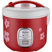 Skyline VT-9060 Electric Rice Cooker Electric Rice Cooker(1.8 L, Red)