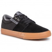 Teniși SUPRA - Stacks Vulc II 08029-017-M Black/Grey/Gum