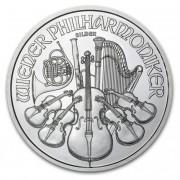 Wiener Philharmoniker Münze Österreich Stříbrná rakouská mince 1 Oz 2015